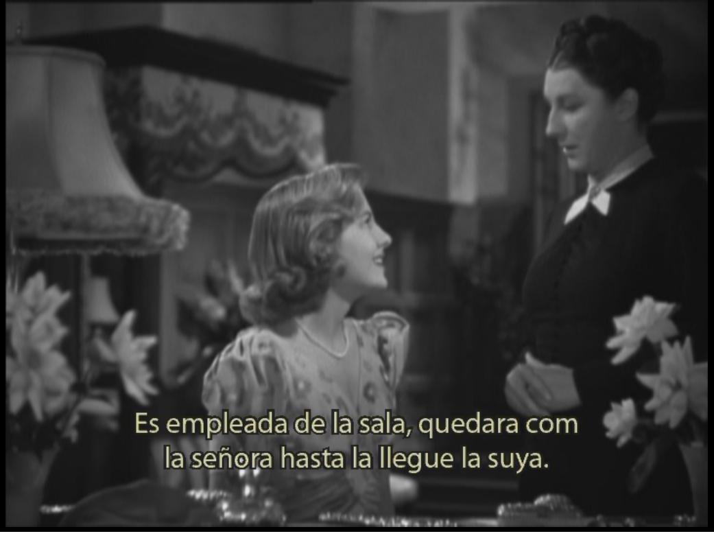 "Fotograma de película ""Rebeca"""